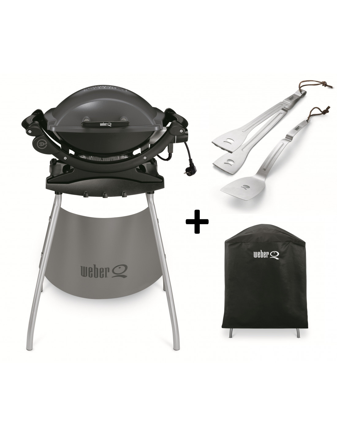 Barbecue electrique q140 stand bbq for Accessoires barbecue weber q140
