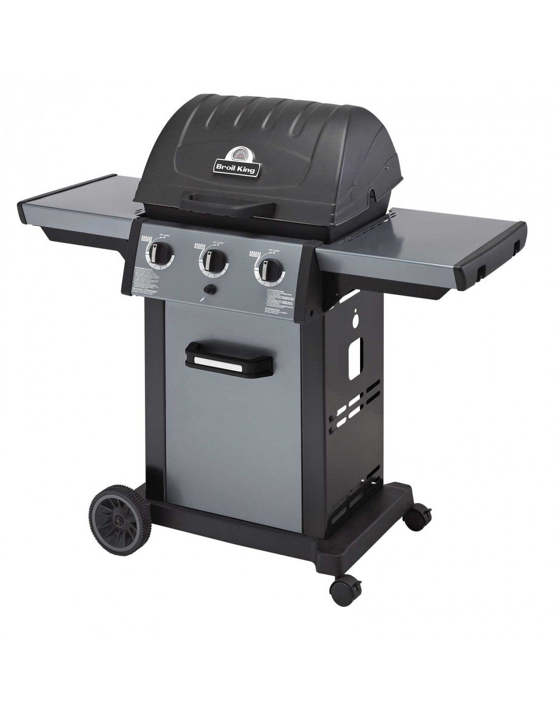 Barbecue gaz broil king royal 320 - Barbecue gaz encastrable ...