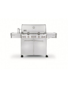 Pack Barbecue Summit S-670 GBS + Plancha + IGrill 2 + Housse