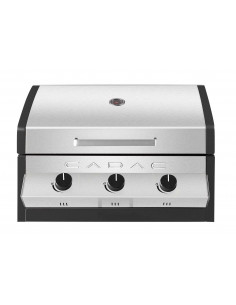 Pack barbecue Meridian encastrable 3b + Pierre Pizza - Cadac