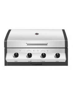 Pack barbecue Meridian encastrable 4b + housse - Cadac