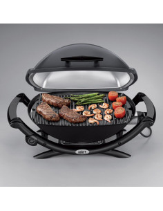 Grille fonte barbecue Q240 (2 parties)