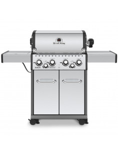 Barbecue Baron 490 inox + Cocotte Encastrable - Broil King