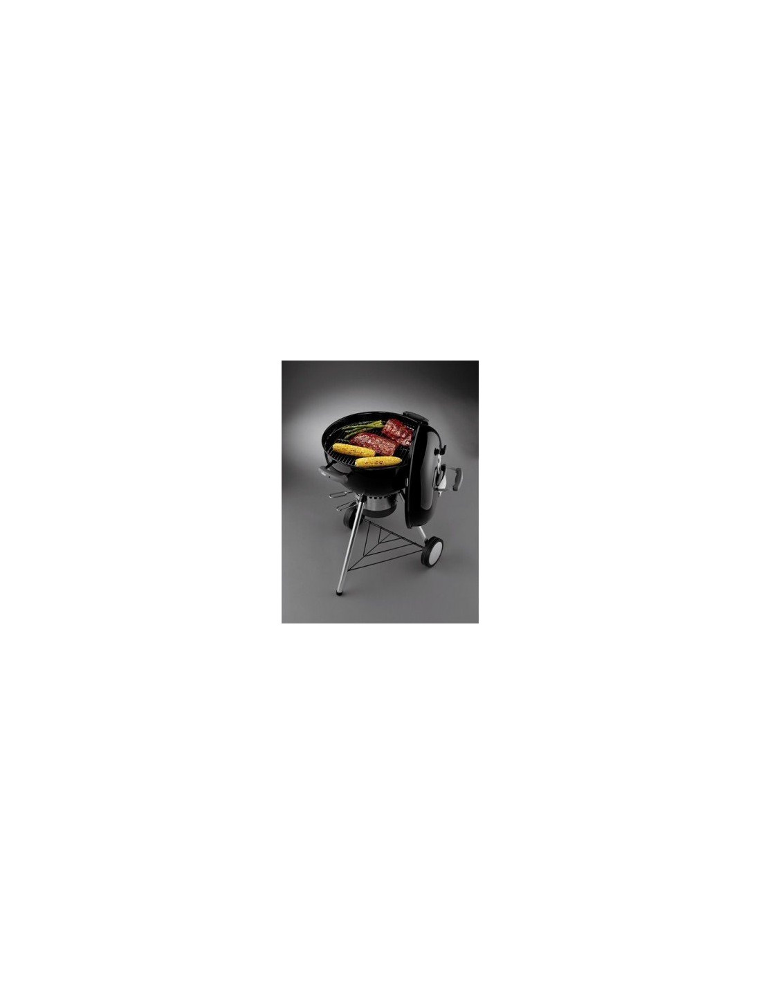 Barbecue charbon weber one touch premium 47 cm noir for Barbecue weber one touch premium