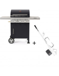Pack Barbecue Gaz Spring 3112 + Rotissoire - Barbecook