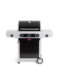 Barbecue Siesta 310 Noir + Plancha - Barbecook*