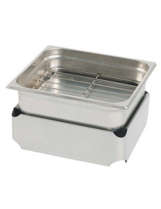 Fumoir inox de table N4