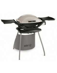 Barbecue Weber Q200 Stand blanc crème*