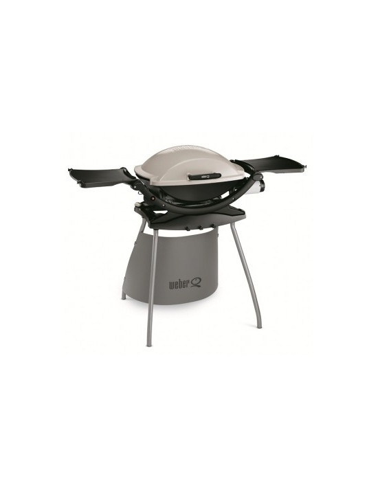 Barbecue Weber Q200 Stand blanc crème