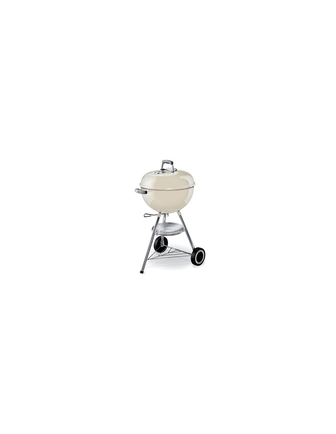 barbecue weber original kettle 47cm blanc. Black Bedroom Furniture Sets. Home Design Ideas