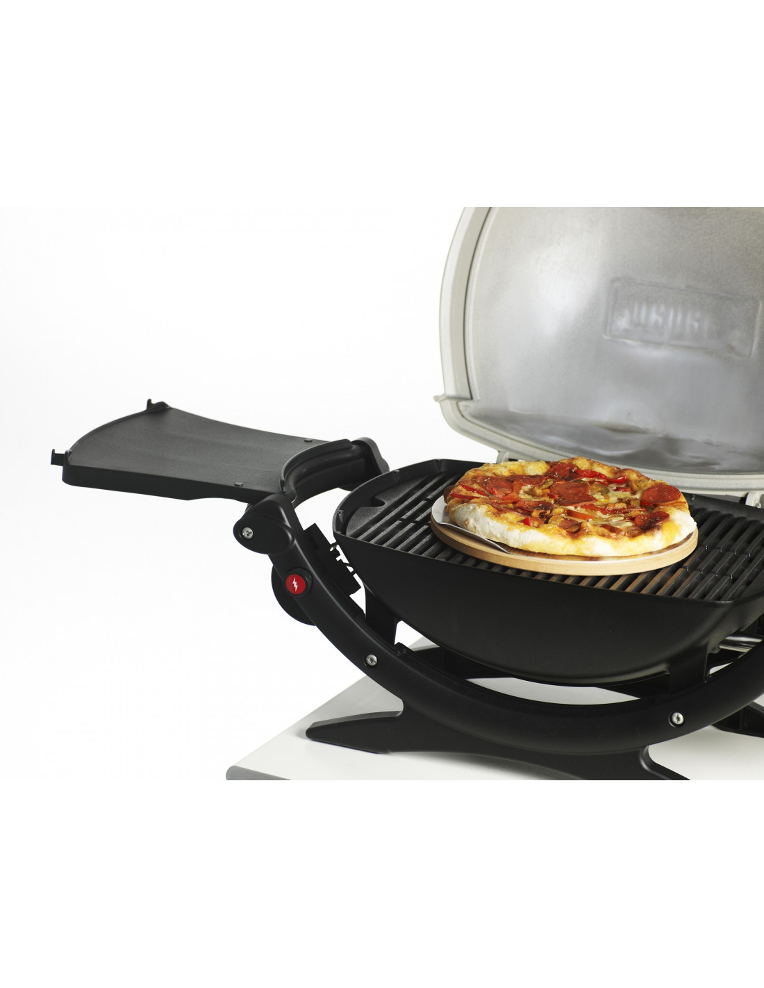 accessoire barbecue pierre pizza weber pour barbecue q. Black Bedroom Furniture Sets. Home Design Ideas