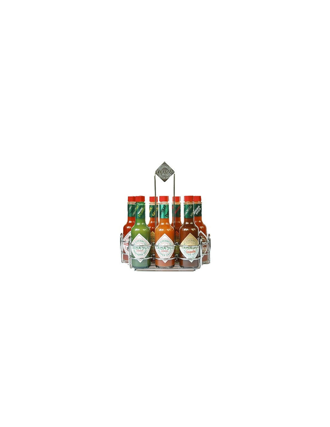 Coffret de 7 sauces tabasco