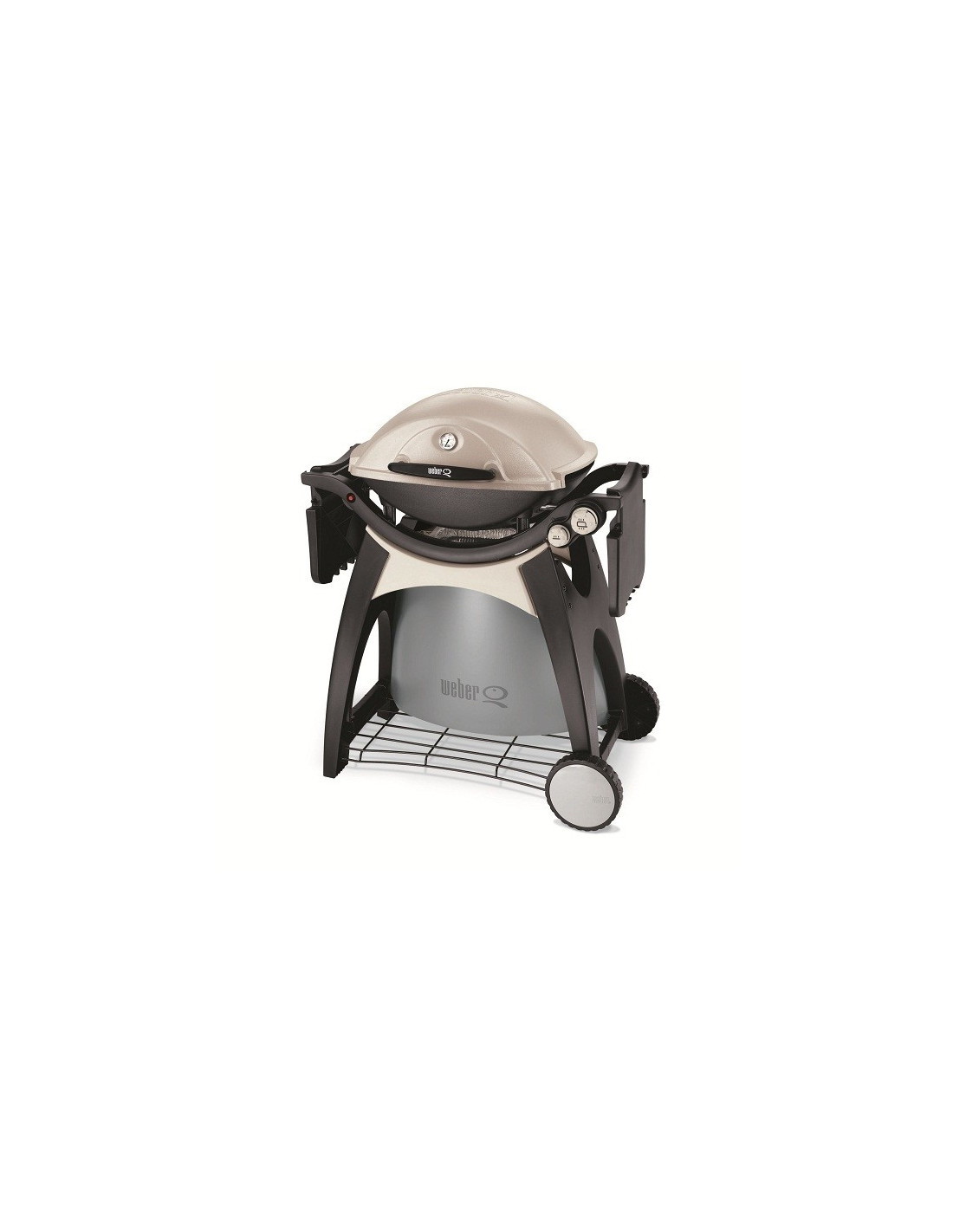 Barbecue gaz barbecue weber q300 blanc cr me - Barbecue weber a gaz ...