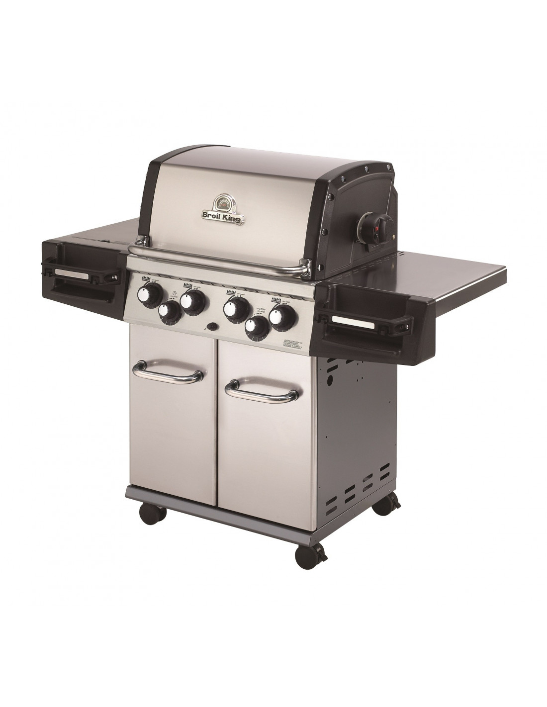 Barbecue gaz broil king regal 490 esprit barbecue - Destockage barbecue gaz ...