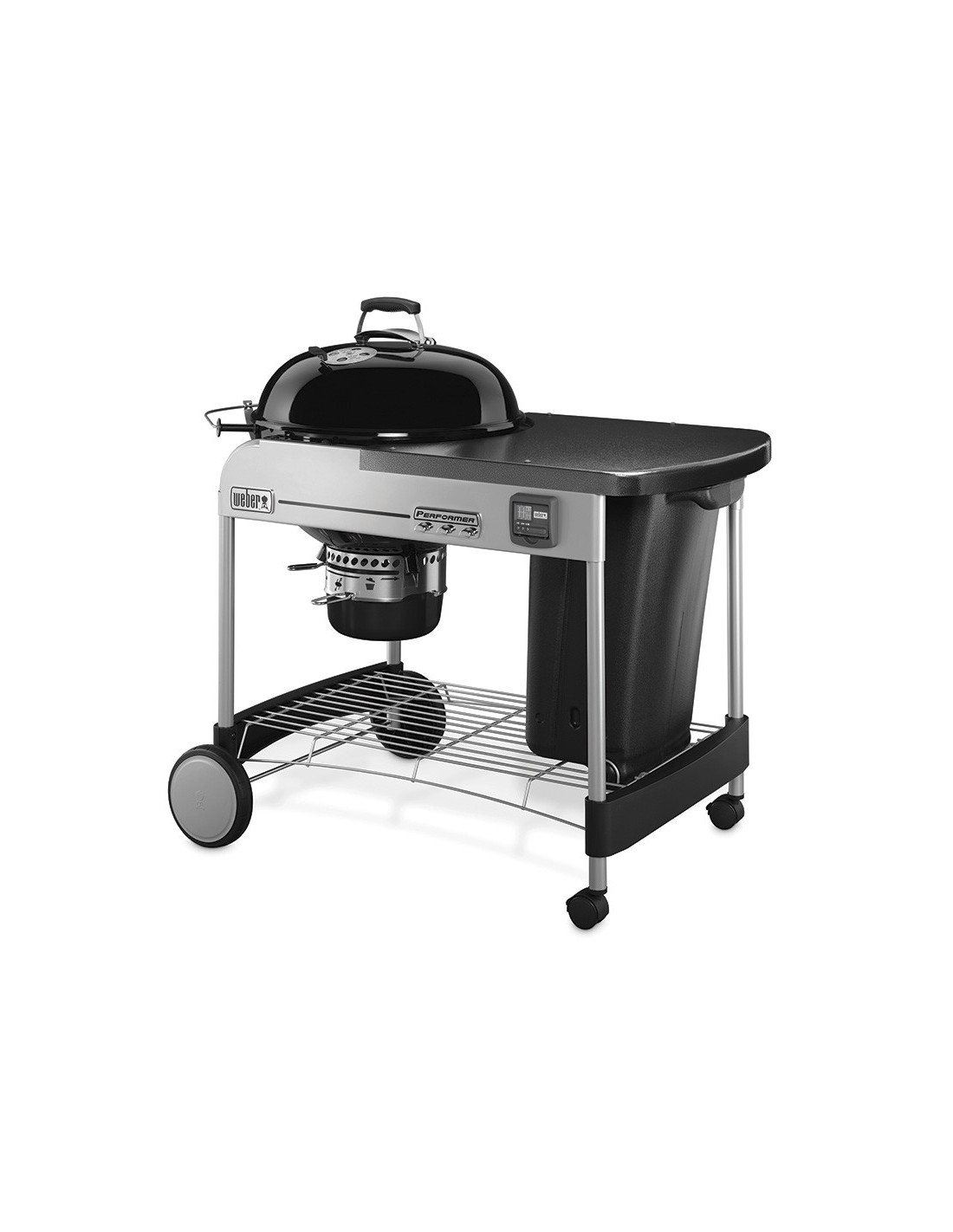 barbecue weber performer premium 57 cm barbecue charbon