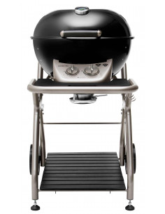 Barbecue Gaz Ascona 570 Noir - Outdoorchef*