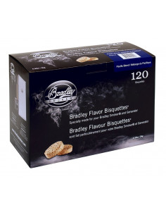 Boite 120 Bisquettes Pacific Blend - Bradley Smoker