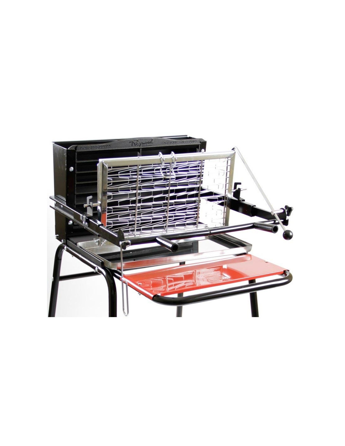 Barbecue raymond cuisson vertical somagic - Barbecue vertical gaz ...