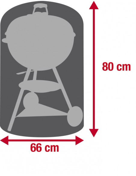 Housse Barbecue rond 66x80cm