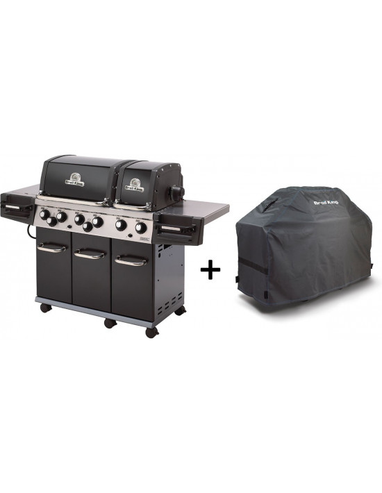 Barbecue Gaz Broil King Regal XL (2015) + Housse