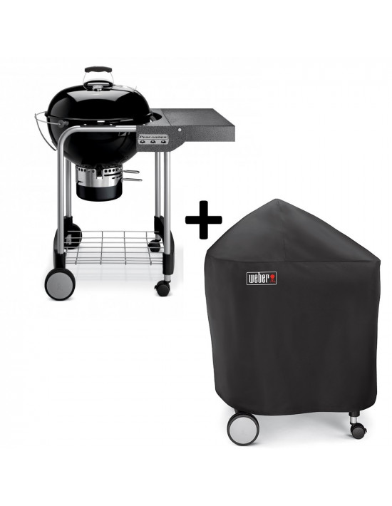 Barbecue Weber Performer Original 57cm GBS + Housse
