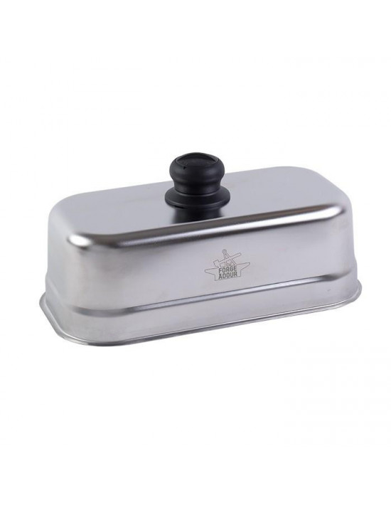 Cloche rectangle Inox pour Plancha
