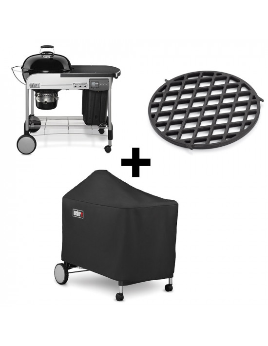 barbecue weber charbon performer premium 57cm gbs. Black Bedroom Furniture Sets. Home Design Ideas