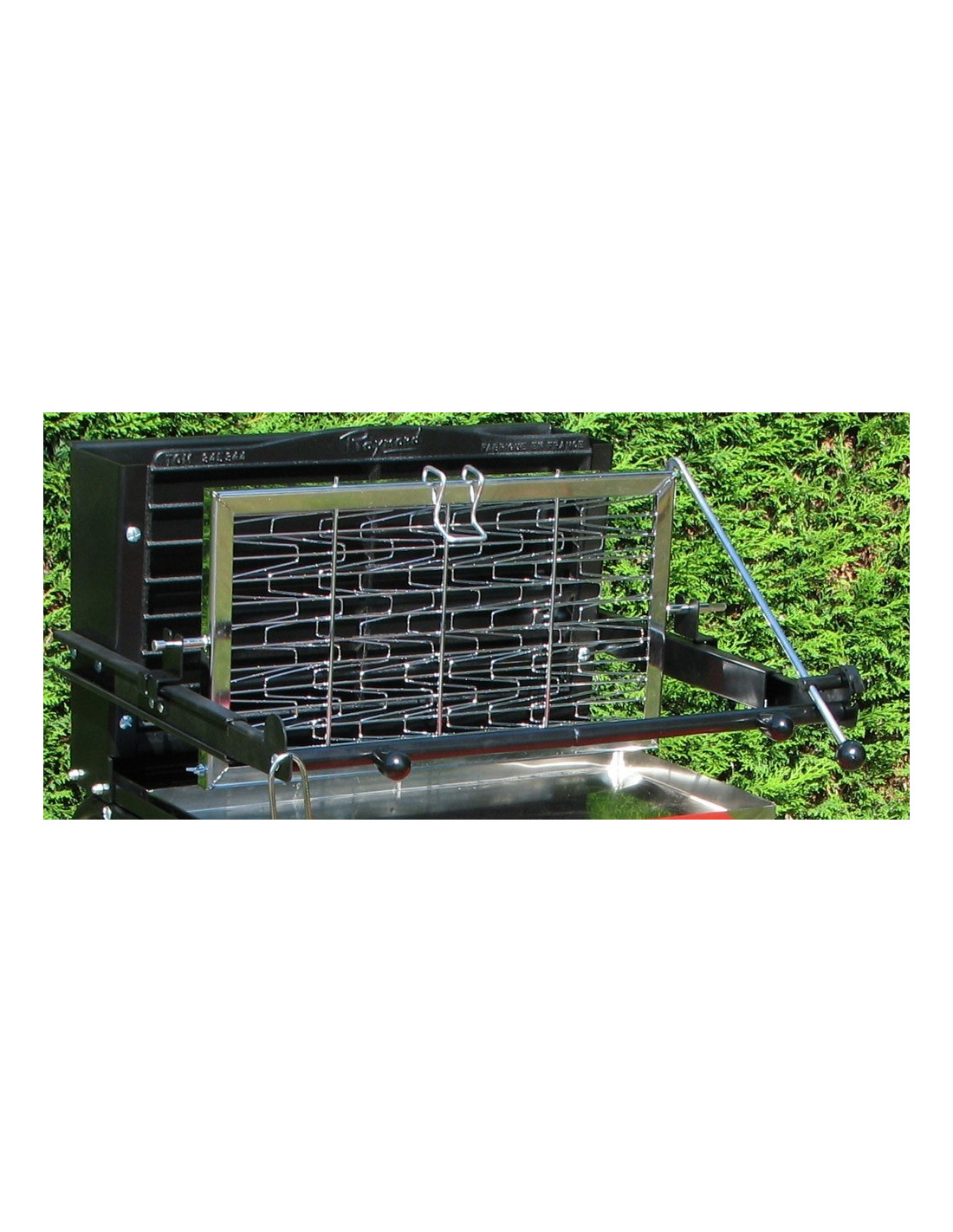 Grille pour barbecue raymond somagic - Grille pour barbecue vertical ...