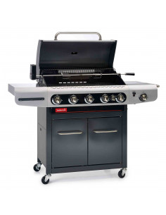Barbecue gaz Siesta 612 + plancha Barbecook