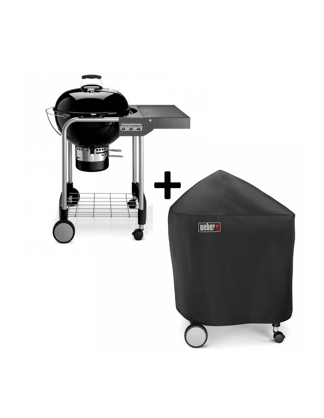 Barbecue weber performer original 57cm gbs housse - Housse barbecue weber ...
