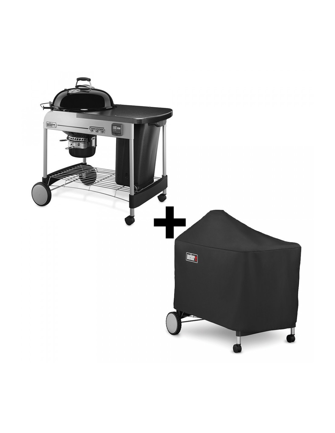 pack barbecue weber performer premium 57cm gbs housse. Black Bedroom Furniture Sets. Home Design Ideas