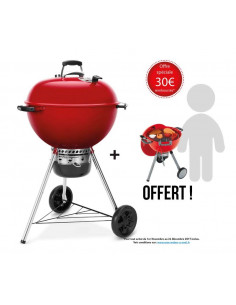 Barbecue Mastertouch Rouge Edition Limité + Barbecue Kettle jouet