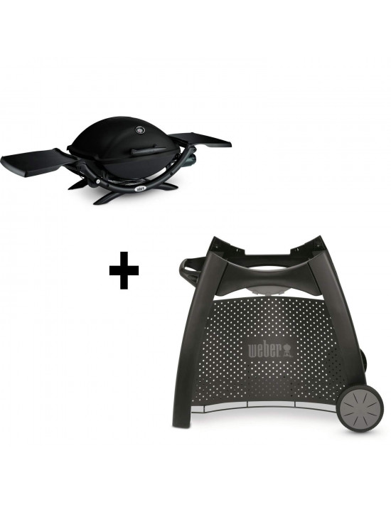 Pack Barbecue Q2200 + Chariot luxe Weber