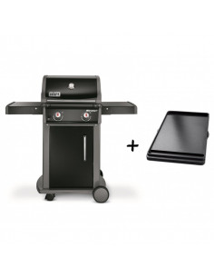 Pack Barbecue Spirit Original E-210 + Plancha*