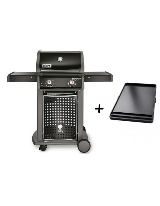 Pack Barbecue Spirit Classic E210 + Plancha