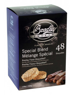 Boite 48 Bisquettes Special Blend - Bradley Smoker