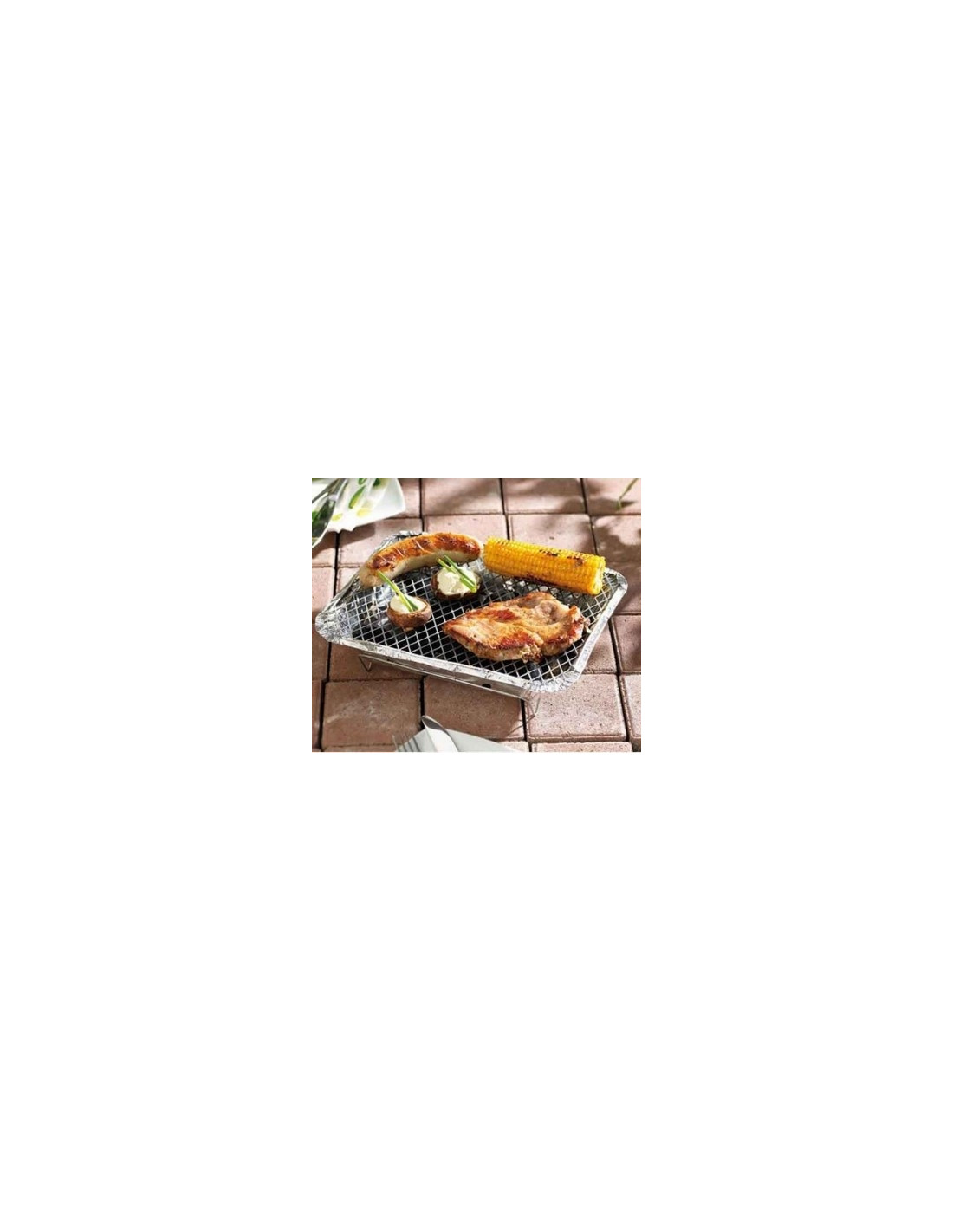 Barbecue charbon jetable en aluminium - Barbecue jetable gifi ...