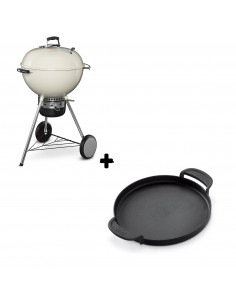 Pack Barbecue Mastertouch blanc + Plancha Gourmet
