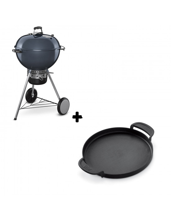 Pack Barbecue Mastertouch bleu + Plancha Gourmet