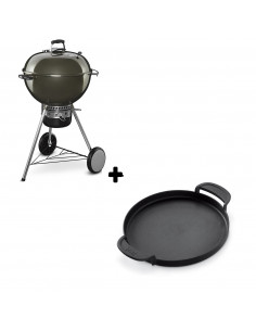 Pack Barbecue Mastertouch Gris + Plancha Gourmet