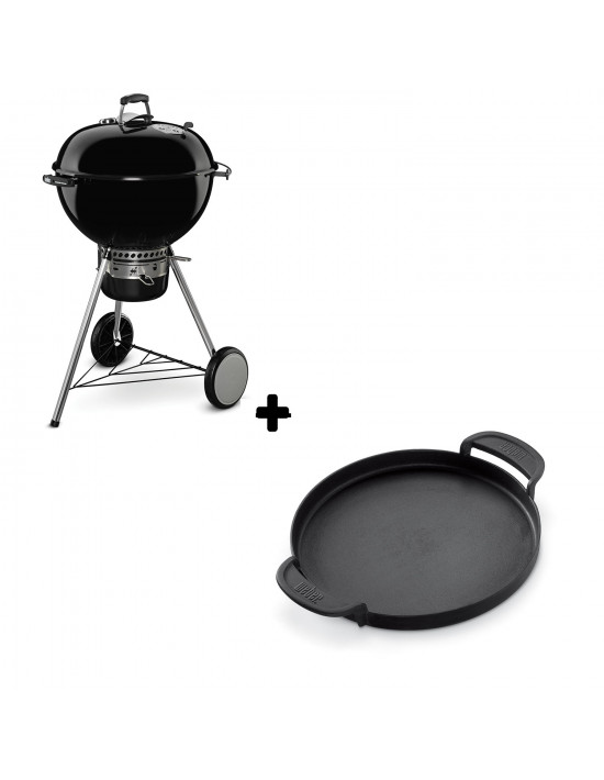 Pack Barbecue Mastertouch Noir + Plancha Gourmet