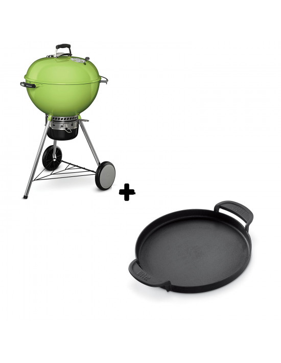 Pack Barbecue Mastertouch vert + Plancha Gourmet