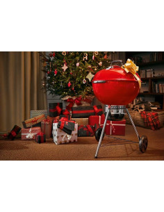 Barbecue Weber Master Touch GBS 57 Rouge Edition Limitee