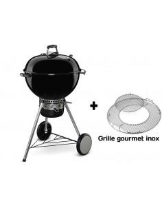 Barbecue MasterTouch 57cm Noir + Grille gourmet Inox