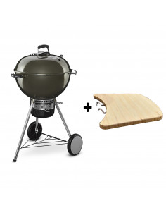 Pack Barbecue Mastertouch Gris + Tablette bois