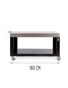 Table Base Inox 160 cm