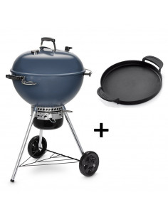 Pack Barbecue Bleu Mastertouch 5750 + Plancha Gourmet