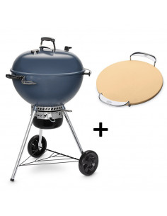 Pack Barbecue Mastertouch bleu 5750 + Pierre à Pizza