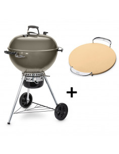 Pack Barbecue Mastertouch gris 5750 + Pierre à Pizza