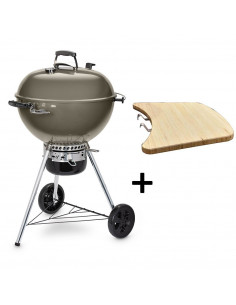 Pack Barbecue Mastertouch gris 5750 + Tablette Latérale